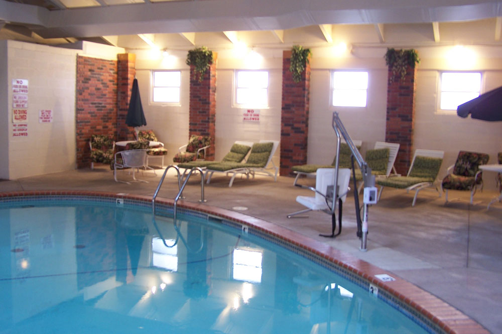 Rockwell RV Park's indoor pool